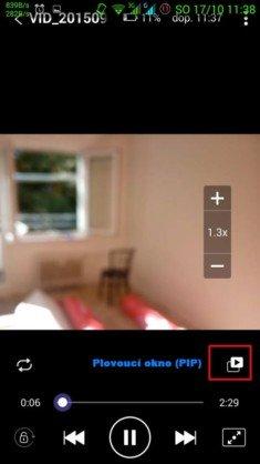 Obrázek: KMPlayer - plovoucí okno