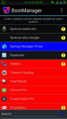 Obrázek: Boot manager nová apps