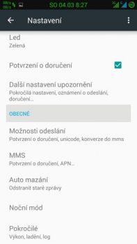 Obrázek: Možnosti aplikace