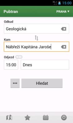 Vyhledávání a appce