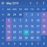 Widget Google kalendáře bez zbytečností