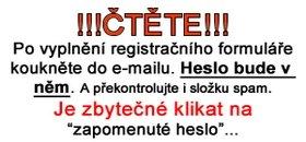 Obrázek: instrukce k registraci